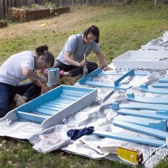 Paint For Adirondack Chairs Shabby Chic Dining Diy Painted 2