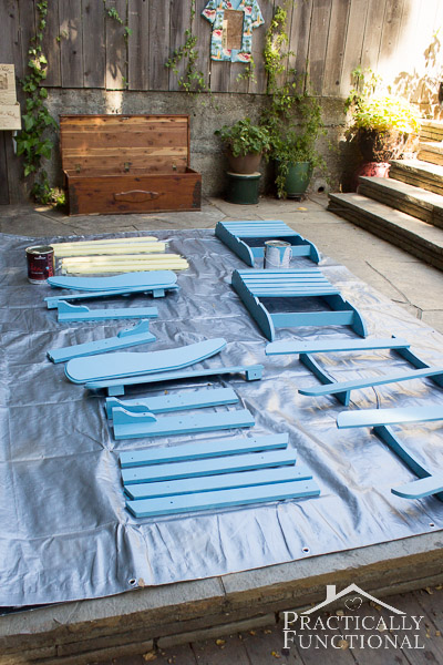 paint for adirondack chairs whole body massage chair diy painted 5