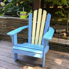 Paint For Adirondack Chairs Chair Cover Rentals Burlington Ontario Diy Painted Painting Is Way Easier Than You Might Think