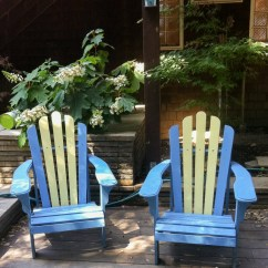 Painted Adirondack Chairs Folding Chair Go Outdoors Diy Painting Is Way Easier Than You Might Think
