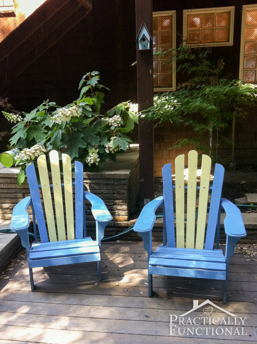 paint for adirondack chairs wheelchair accessories ebay diy painted painting is way easier than you might think
