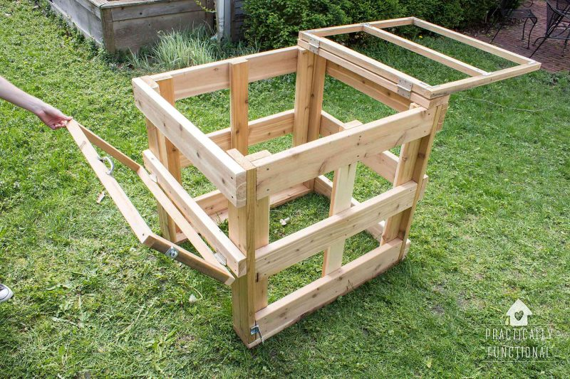 How To Build A DIY Compost Bin  Free Plans  Cut List
