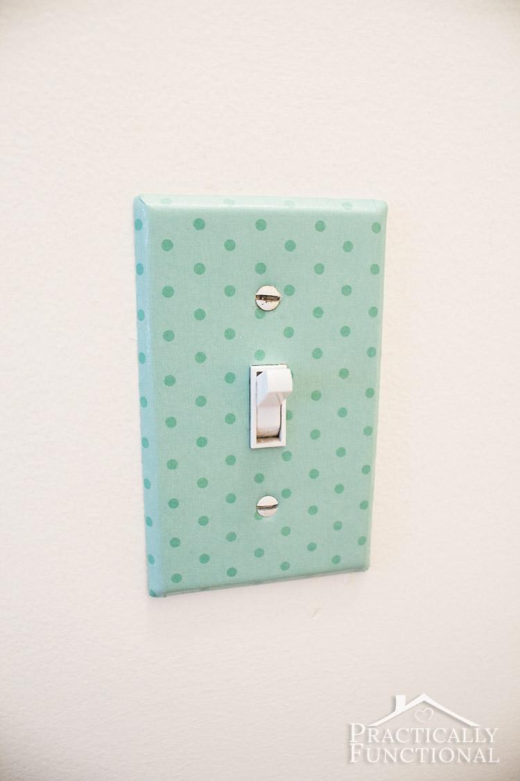 DIY Decorative Light Switch Covers