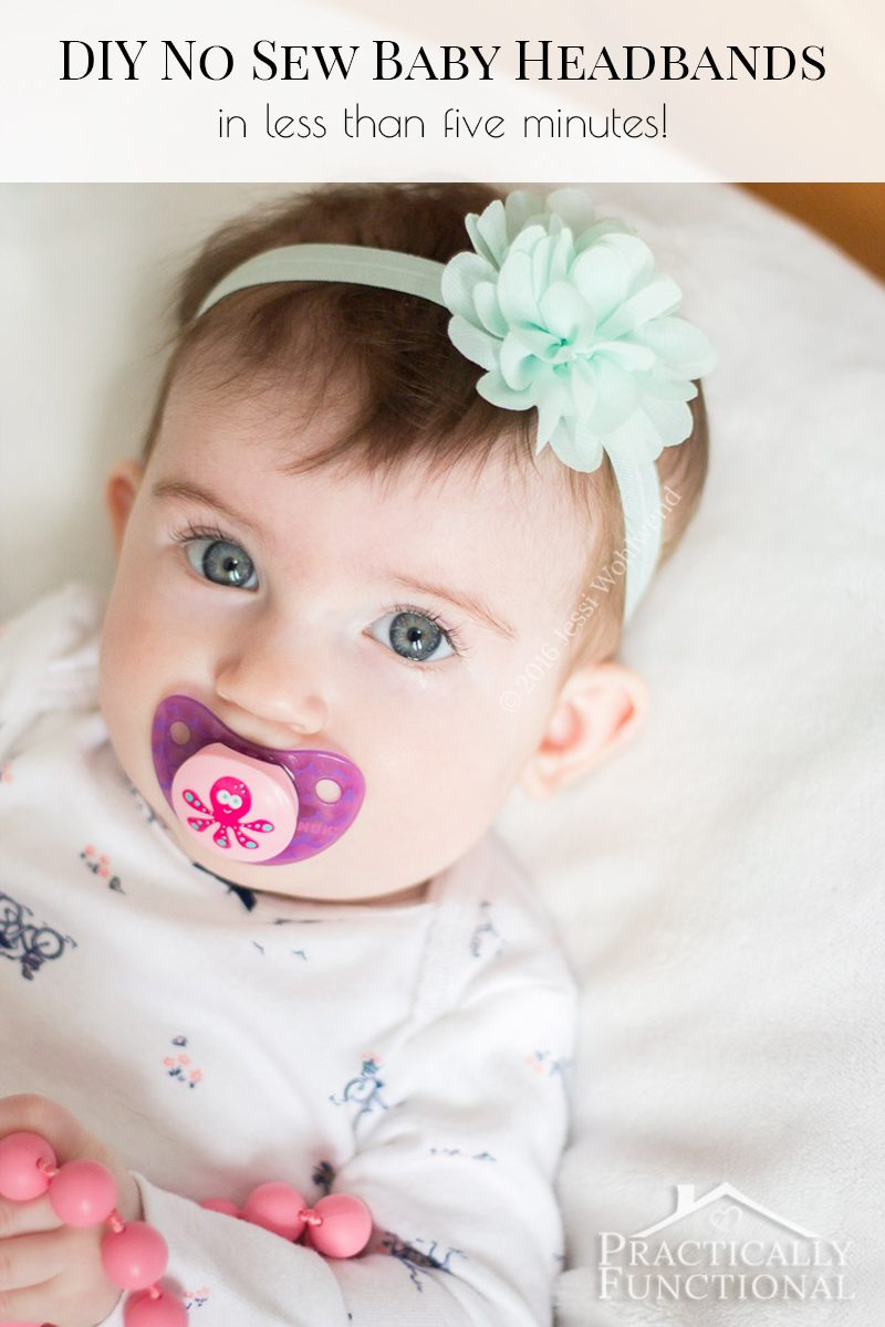 How To Make Flowers Out Of Ribbon For Baby Headbands : flowers, ribbon, headbands, Flower, Headbands, Sewing, Required!)