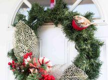 DIY Winter Greenery Wreath