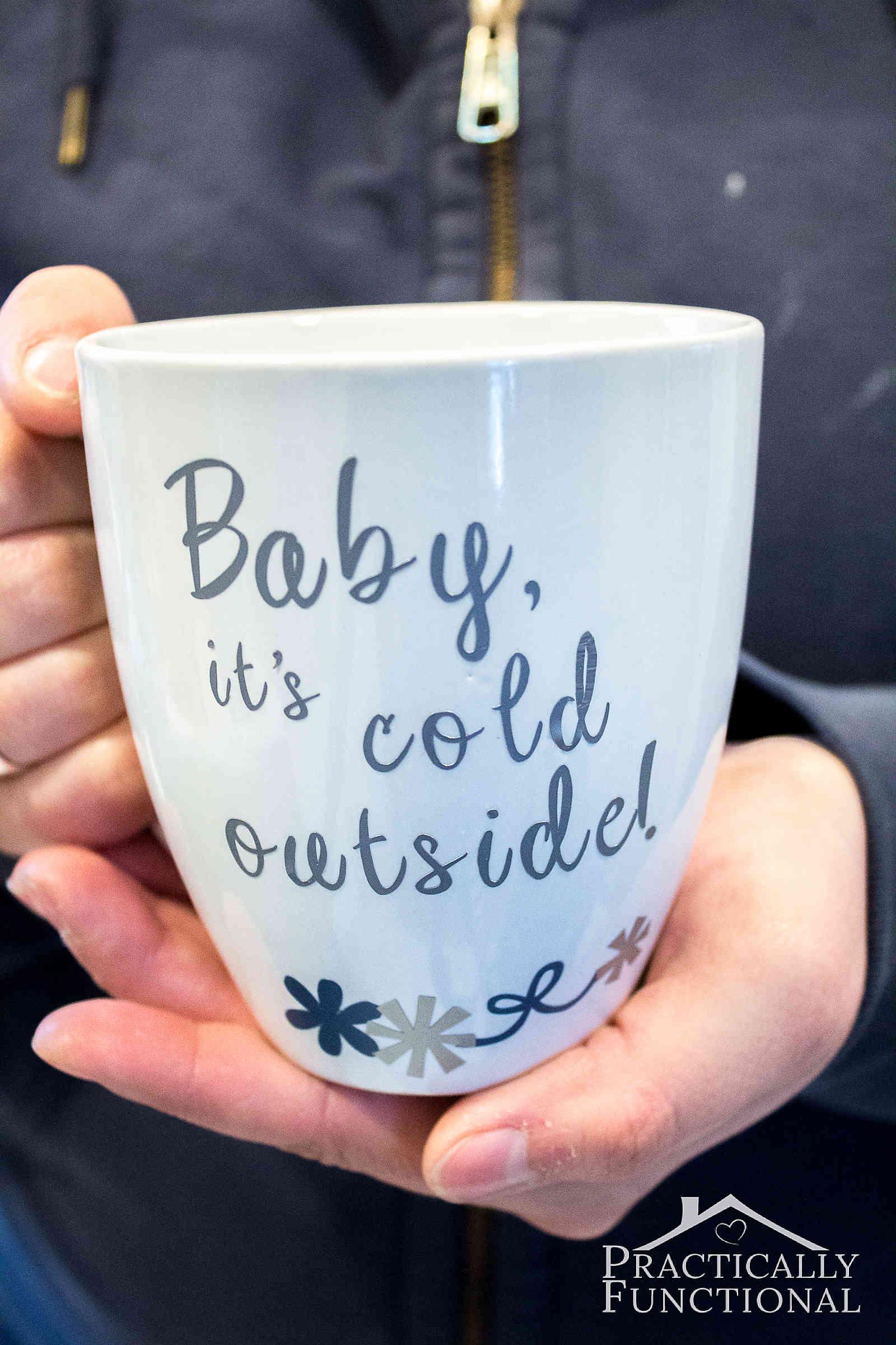 Cricut Coffee Mug Ideas : cricut, coffee, ideas, Vinyl, Cricut, Explore, Practically, Functional