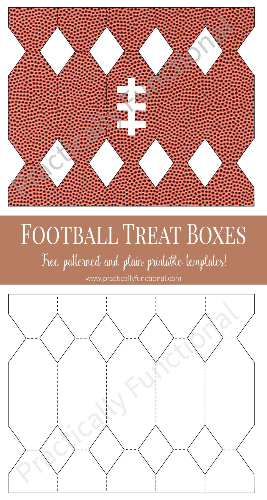 Free Printable Football Worksheet