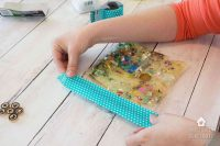 How To Make Sensory Bags For Babies & Toddlers