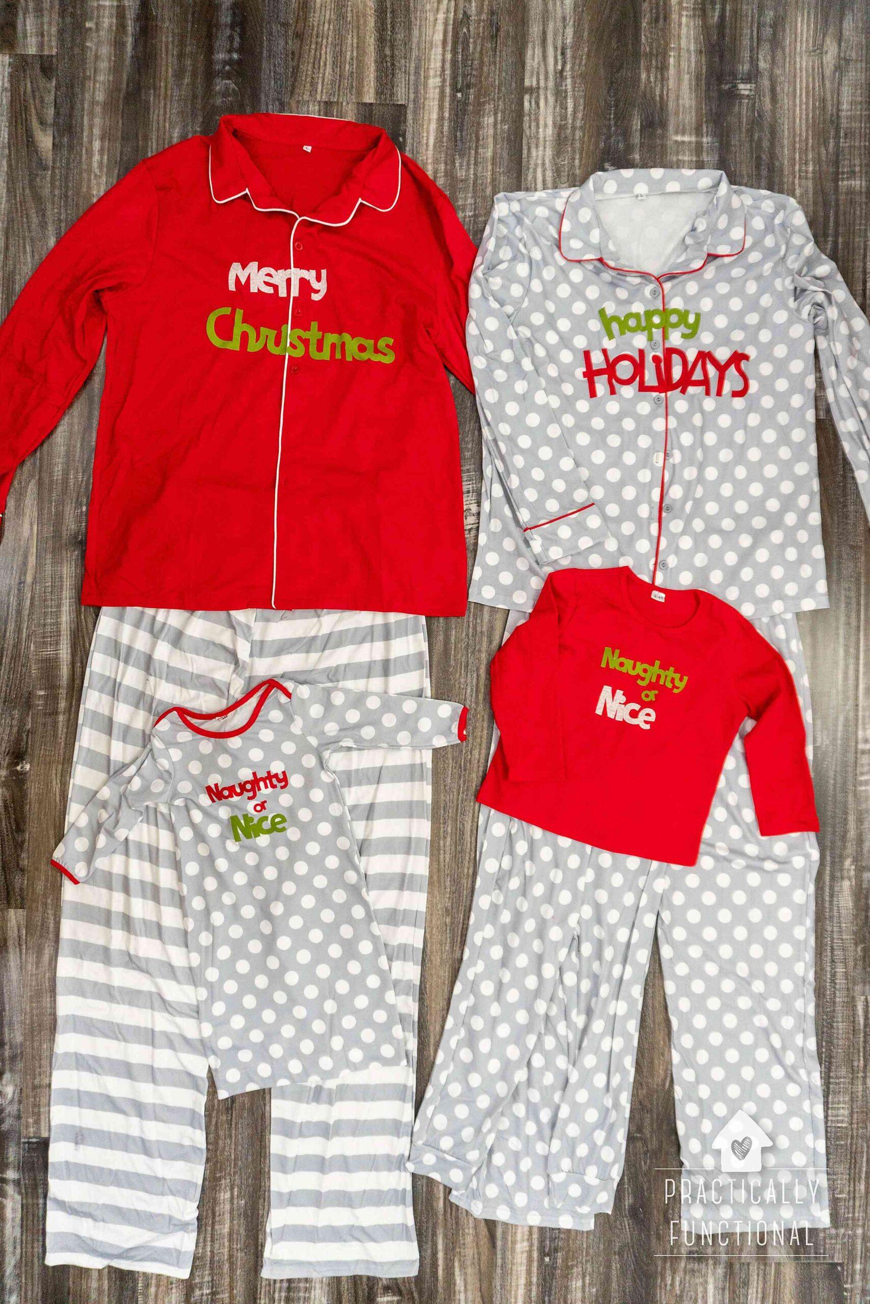 Diy Christmas Pajamas : christmas, pajamas, Matching, Family, Christmas, Pajamas, Practically, Functional
