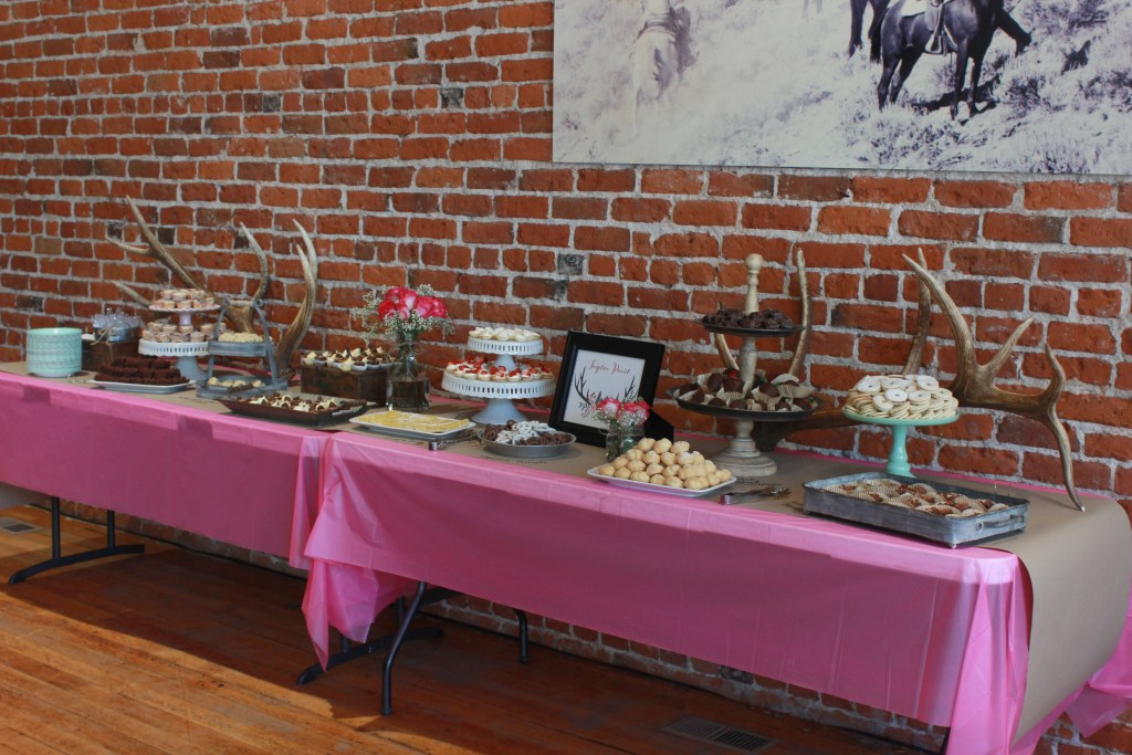 Guide to setting up a Dessert Buffet Table