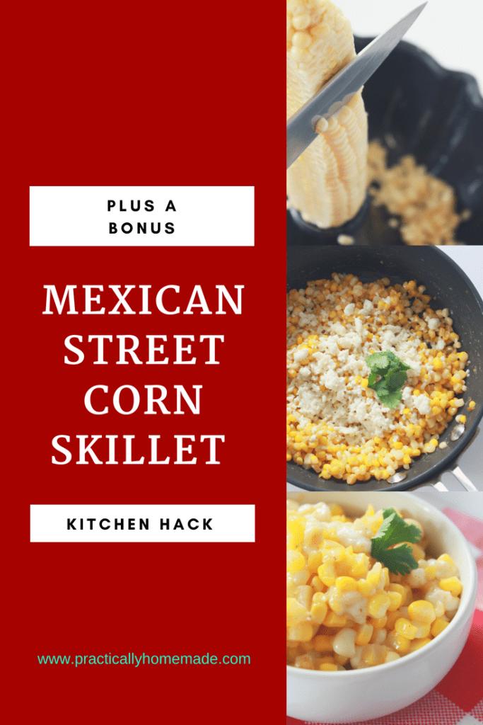 mexican street corn | mexican street corn skillet | mexican street corn recipe | mexican street corn skillet recipe | kitchen hack
