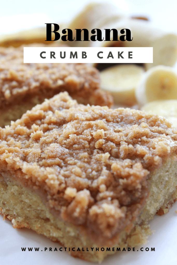 banana crumb cake | banana recipe | banana bread | banana crumb cake easy