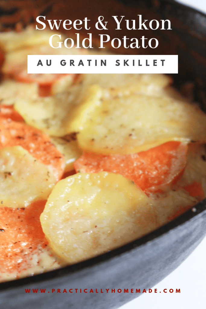 sweet potato recipes | potato skillet recipes | sweet and yukon potato | skillet recipes