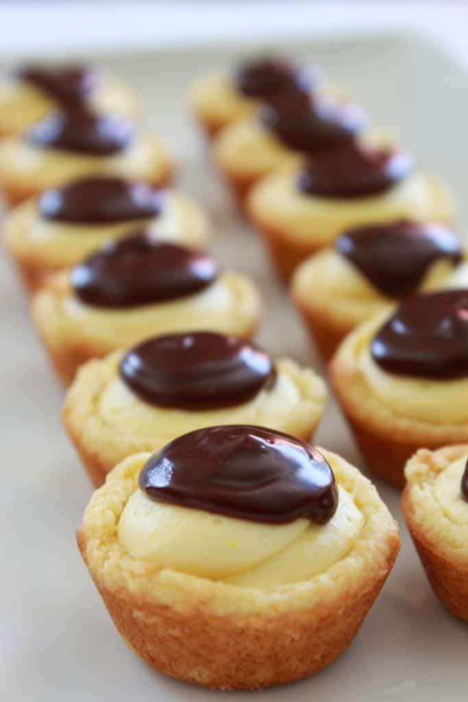 Betty Crocker Boston Cream Pie : betty, crocker, boston, cream, Boston, Cream, Cookie, Bites, Recipe, Practically, Homemade