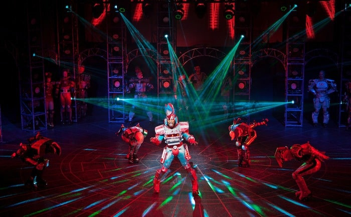 Starlight Express - Mykal Rand as Electra - credit Eric Richmond