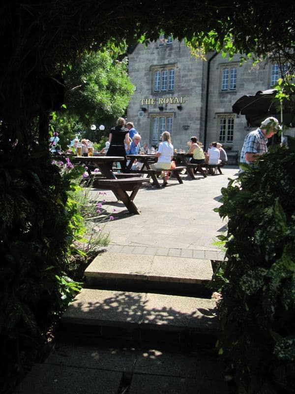 The Royal - Beer Garden, Portishead