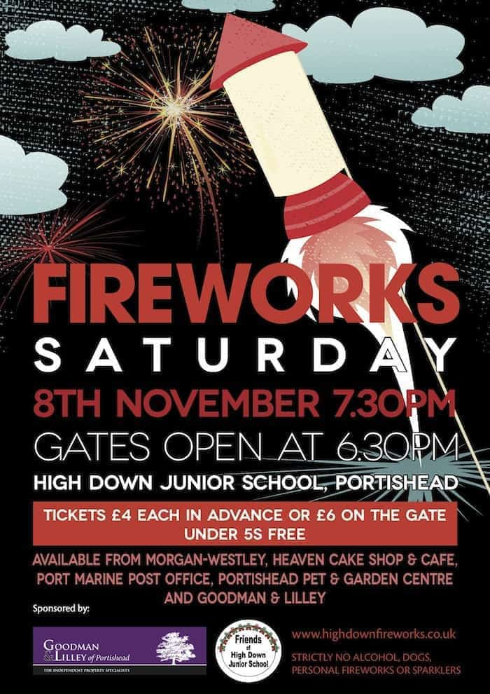 Firework Displays in Portishead #fireworks #portishead #somerset #Bristol #Firework #display #Highdown #school