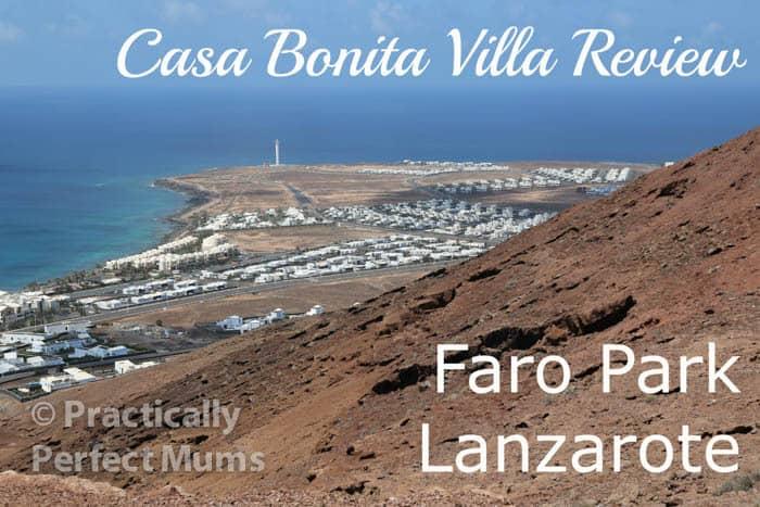 Casa Bonita Villa, Faro Park, Lanzarote Video Review