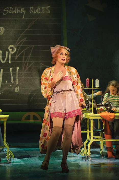 ANNIE - Craig Revel Horwood as 'Miss Hannigan'. Photo credit Paul Coltas (2)