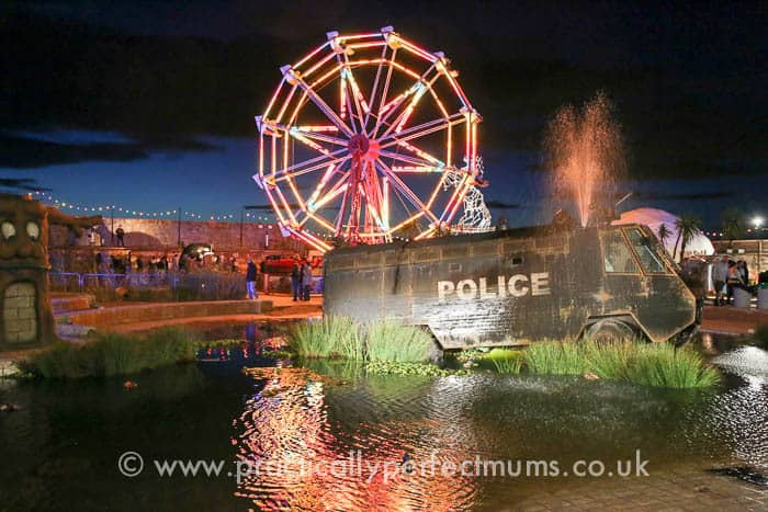 #Dismaland #Banksy #Graffiti #Tropicana #Art #Weston-super-Mare