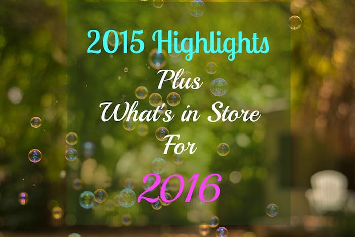 2015 highlights and 2016 plans
