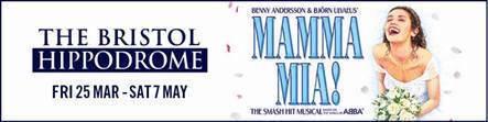 Bristol Hippodrome Shows 2016 - Mamma Mia