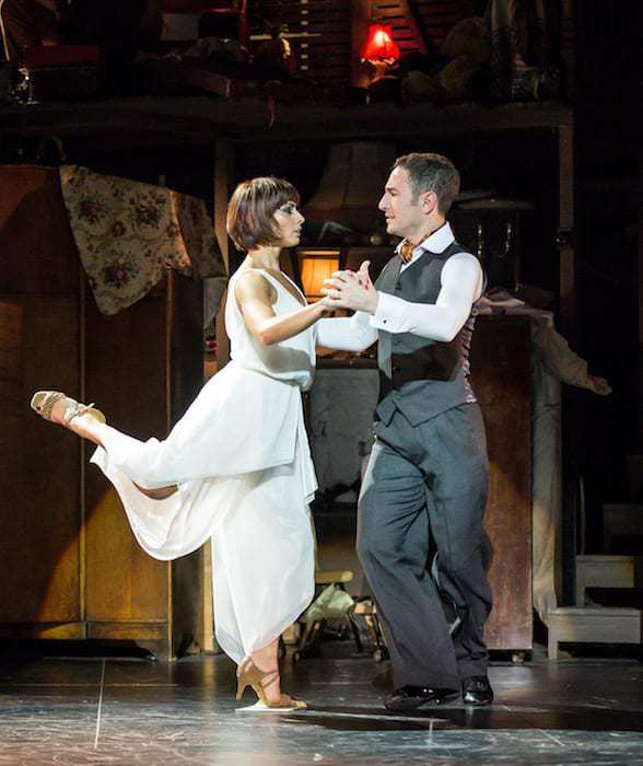The Last Tango Review - Vincent Simone and Flavia Cacace - credit Manuel Harlan