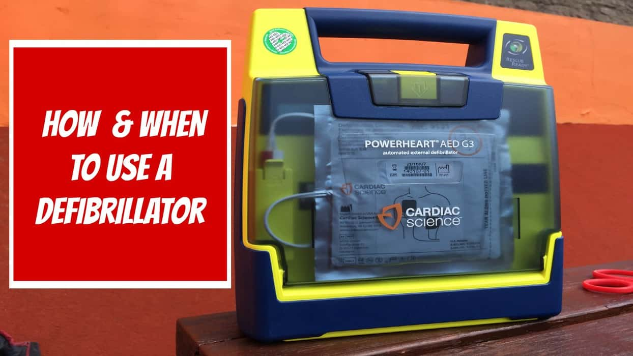 How to use a defibrillator and save a life