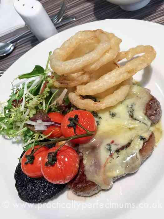 Ordulph Bar and Terrace Restaurant, Tavistock, Devon. Family friendly restaurants in Dartmoor