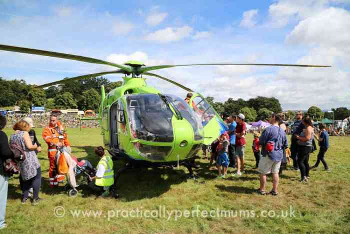 Great Western Air Ambulance at Bristol Balloon Fiesta 2016