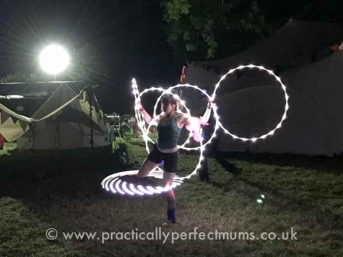 Illuminated Hula Hoops - Valley Fest Review 2016