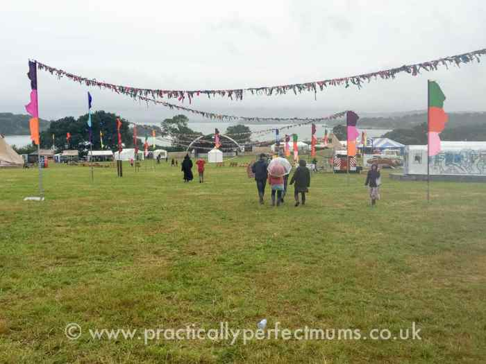 Rain and wind in the arena - Valley Fest Review 2016