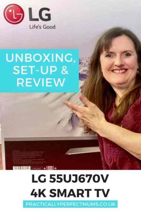 LG 55UJ670V TV review