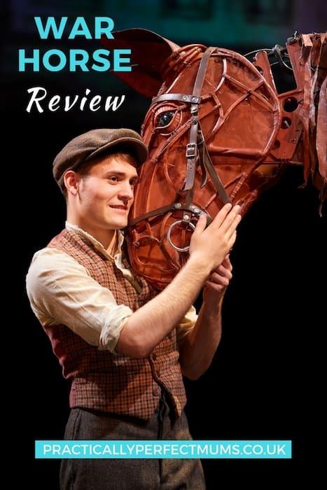 War Horse Review Bristol Pin