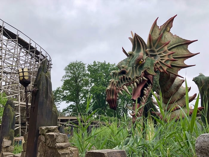 George and the Dragon at Efteling