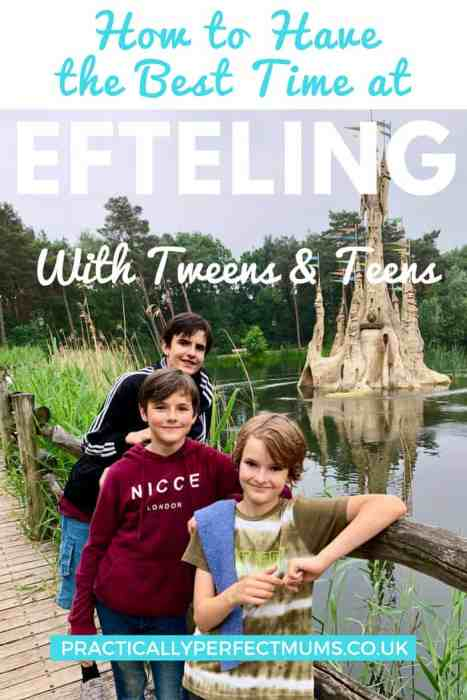 Efteling with teens and tweens