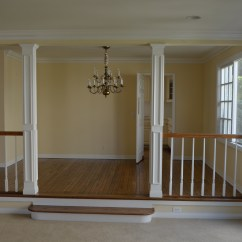 Laminate Flooring Sunken Living Room White Sofa Decorating Ideas Project One Irvine Practically Renovating Dining Viewed From