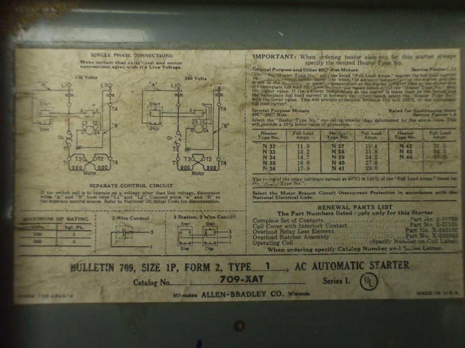1 Hp Motor Wiring. Diagram. Wiring Diagram Images