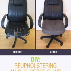 Birth Chair For Delivery Garden Covers Asda Diy: Reupholstering The Old Office