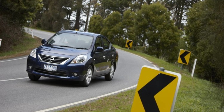 The Nissan Almera is a sensible small car with the space of a medium car.