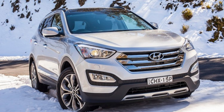 The Hyundai Santa Fe looks good, is great to drive and has a long list of standard features.
