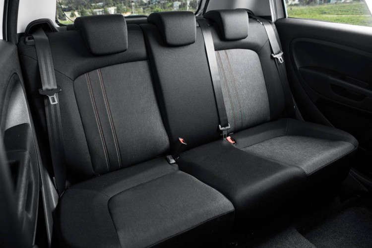 Fiat Punto Pop Back Seats
