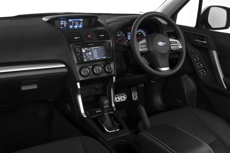 The Interior of the Subaru Forester is a big step up over its predecessor
