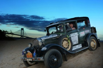 Vintage Adventurer sets off on Ocean2Ocean Challenge