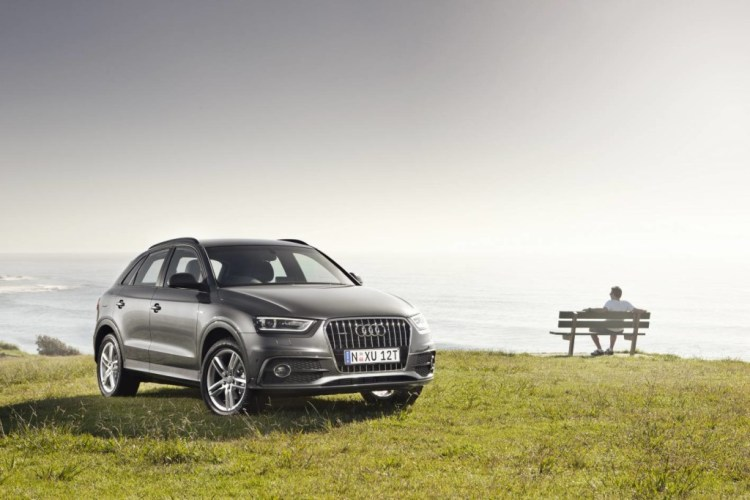 The Audi Q3 looks great
