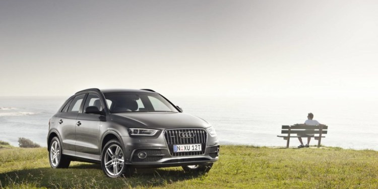The Audi Q3 looks great