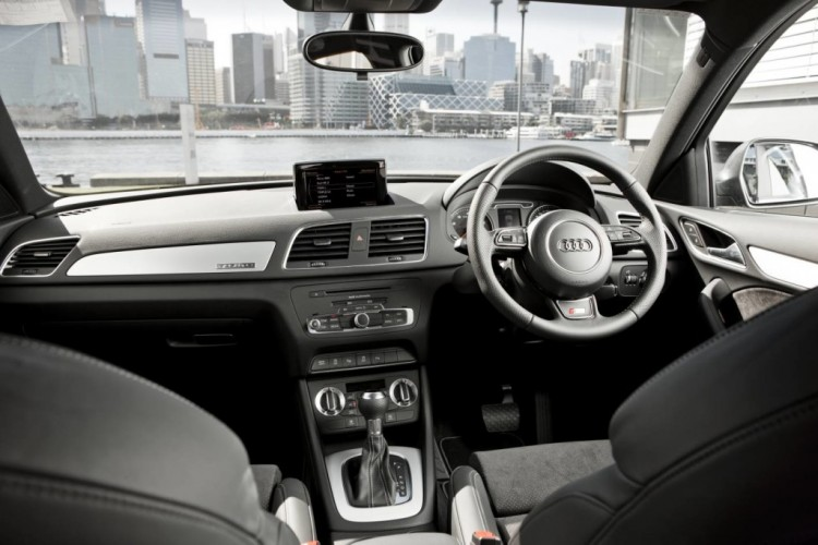 The Audi Q3 offers a beautifully finished premium interior