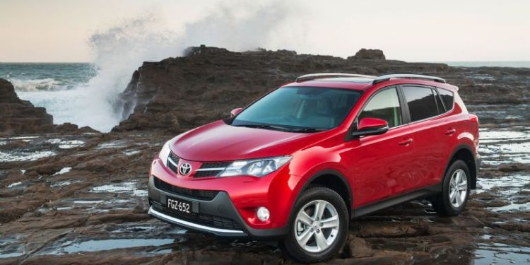 The Toyota RAV4 is Australia's best-selling compact SUV