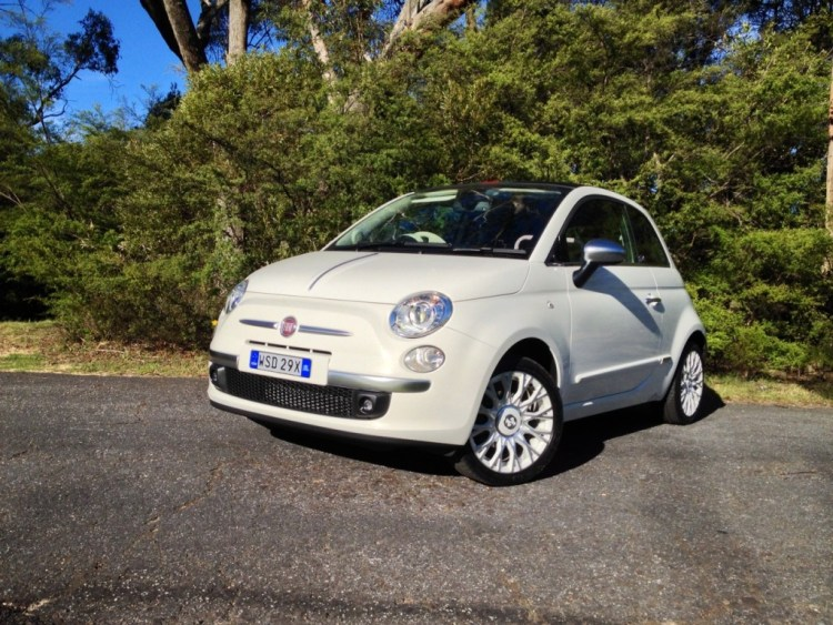 The Fiat 500C by Gucci takes the already cute Fiat 500 and makes it even cuter.