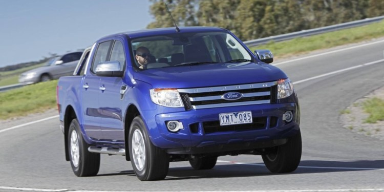 It's no SUV but the Ford Ranger offers decent on-road performance